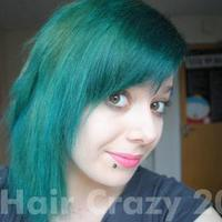 Taking Hair from Black to Turquoise!