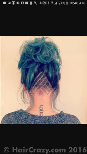 How my undercut looks