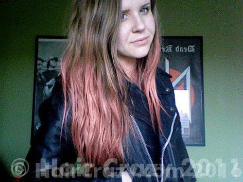 Brown To Pink Unbleached Hair Forums Haircrazy Com