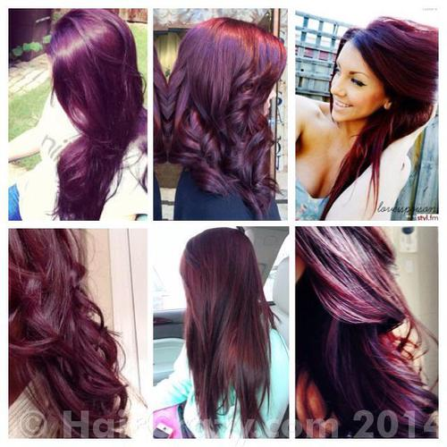 Achieving Burgundy Plum Hair From A Magenta Red?