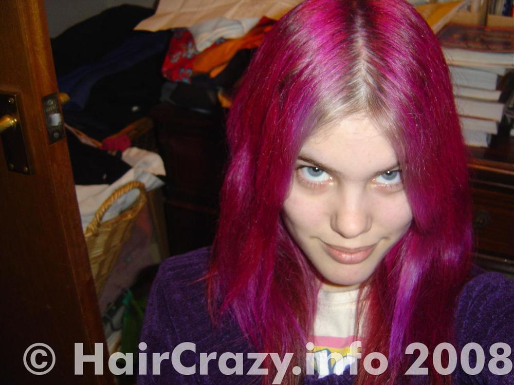 nikishii_vixen -   - Coral Blue   - Magenta   - Natural (No Product Used)