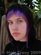 exquisite_decay - First time dying my hair. Used SE Wildflower and black. Wildflower is a beautiful color, but had terrible staying power for me.  - 27 April 2008 11:56 a.m.