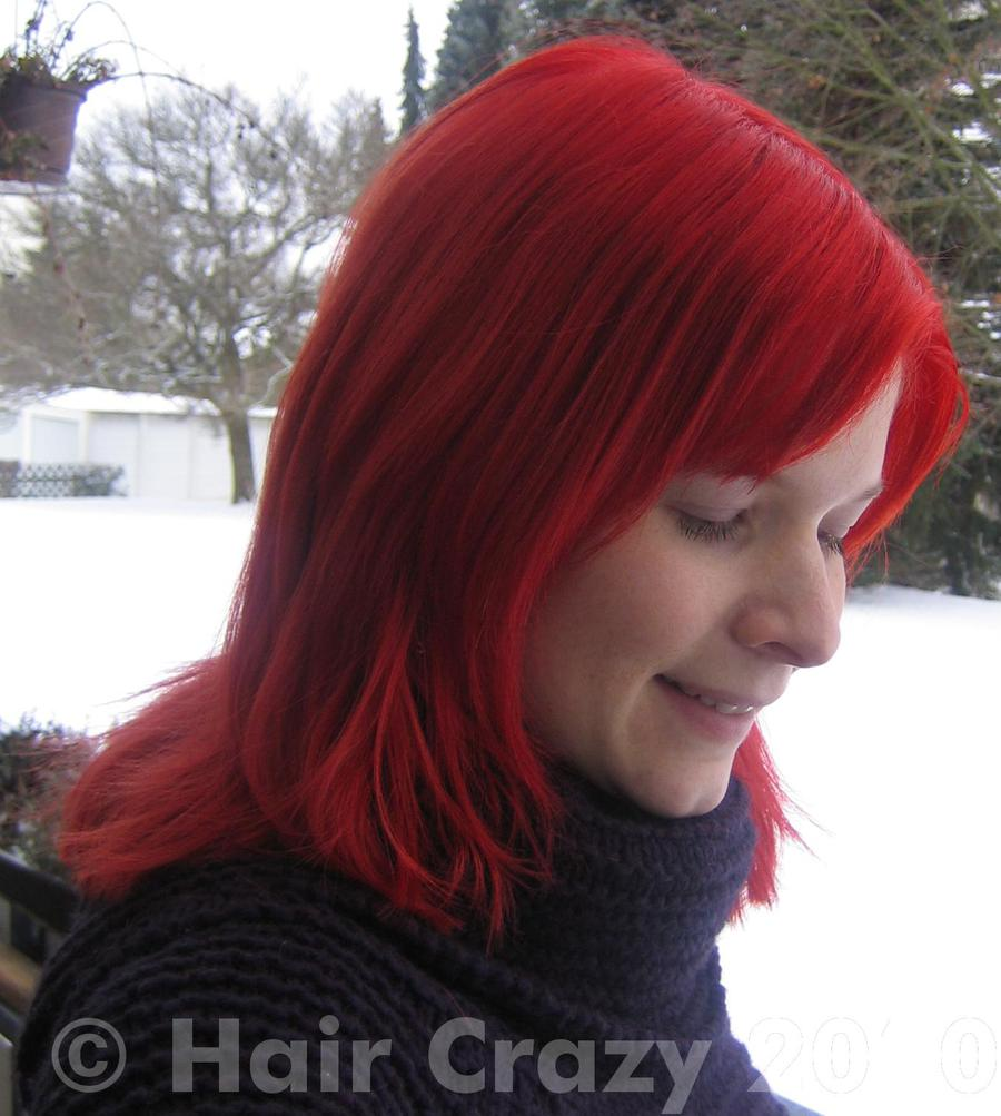 Crazy Color Hair Dye Fire Red Review Printable Coloring Pages
