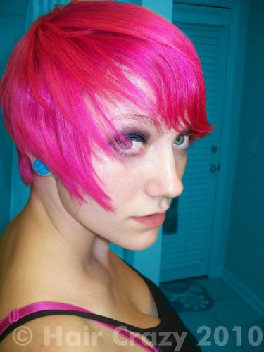 Buy Atomic Pink Special Effects Hair Dye Haircrazy Com