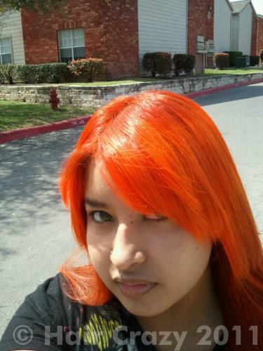 Buy Napalm Orange Special Effects Hair Dye Haircrazy Com