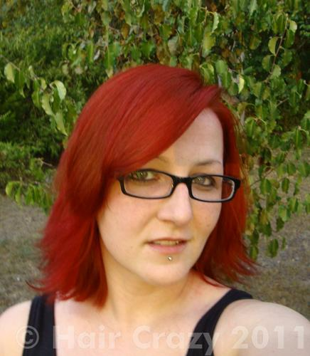 Buy Blood Red Special Effects Hair Dye Haircrazy Com