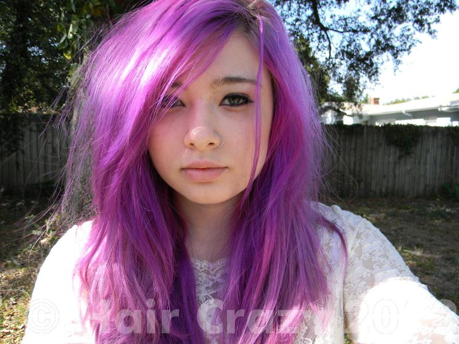 Purple Haze Manic Panic Pastel Purple Hair Pho...