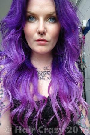 Manic Panic Electric Amethyst Photos Haircrazy Com