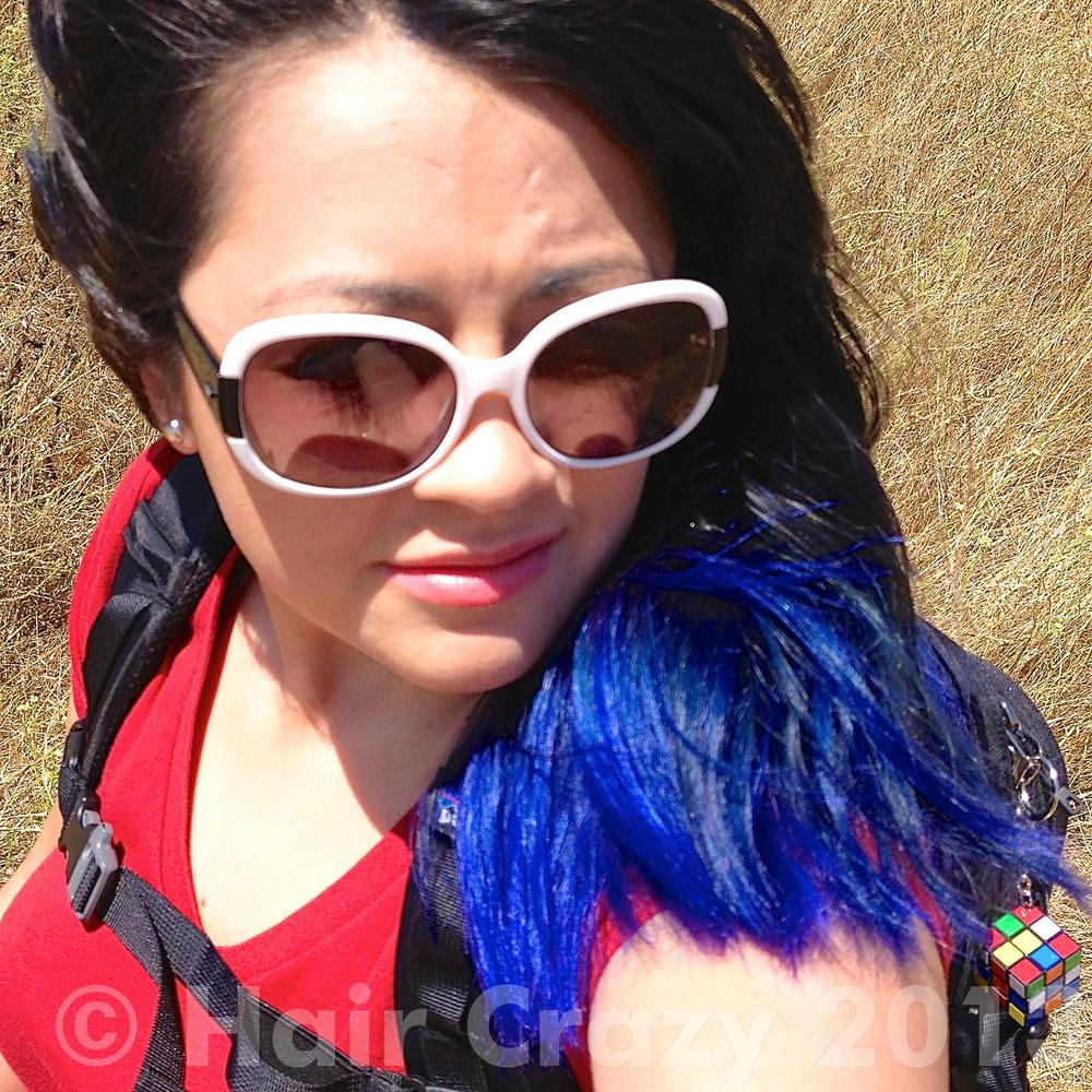 Photo of Special Effects Blue Haired Freak