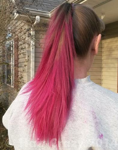 buy hot hot pink manic panic hair dye