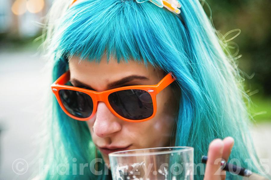 OhShizz -   - Atomic Turquoise   - Lagoon Blue (Punky)   - Vivids Silver