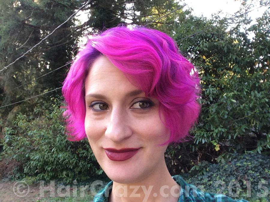 Dizzinea -   - Manic Panic Hot Hot Pink   - Special Effects Deep Purple