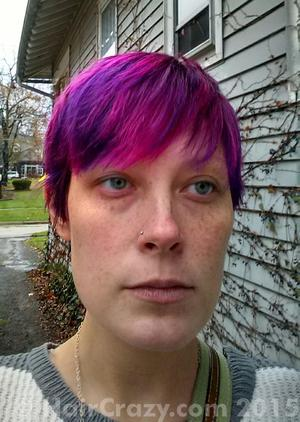 Do_or_Dye -   - Atomic Pink   - Directions Cerise   - Pimpin Purple